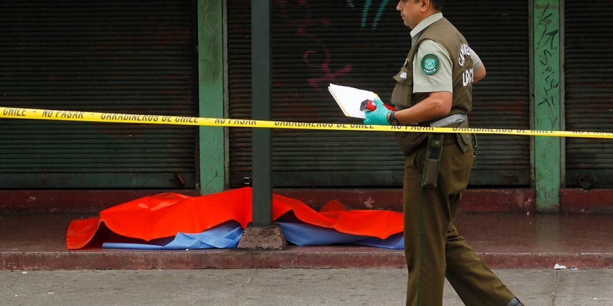 Indagan presunto ajuste de cuentas en asesinato a tiros de joven en Valparaíso