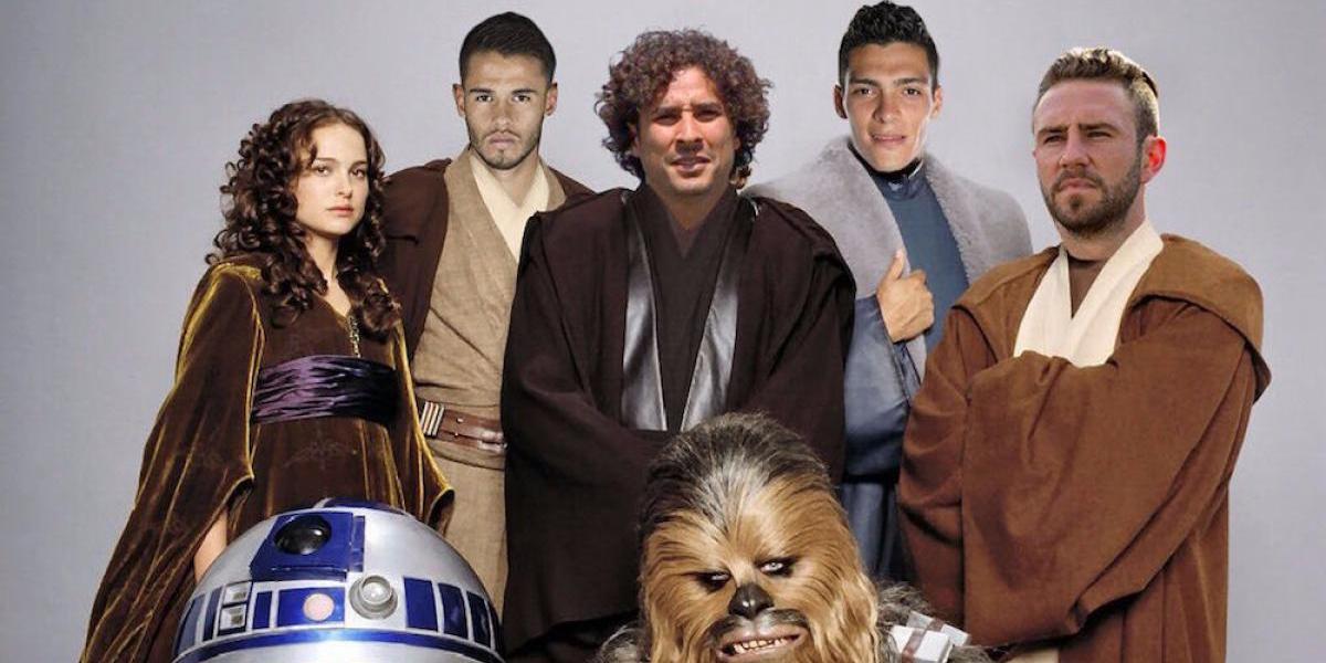 El mundo del deporte también celebra el Día de Star Wars