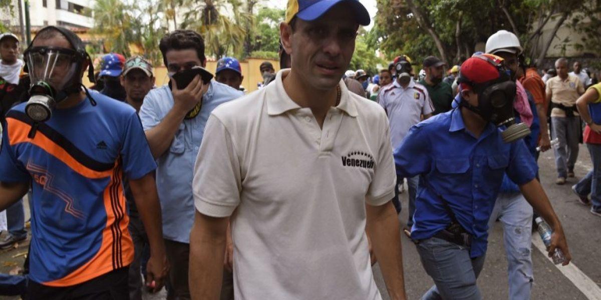 """Líder de la oposición venezolana Henrique Capriles: """"Si fuéramos violentos, ya hubiésemos tumbado al gobierno"""""""