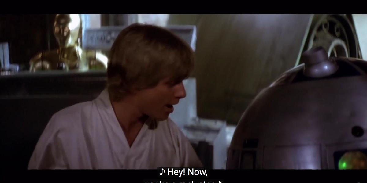 """Star Wars Day: el gracioso video de sus personajes cantando """"All star"""""""