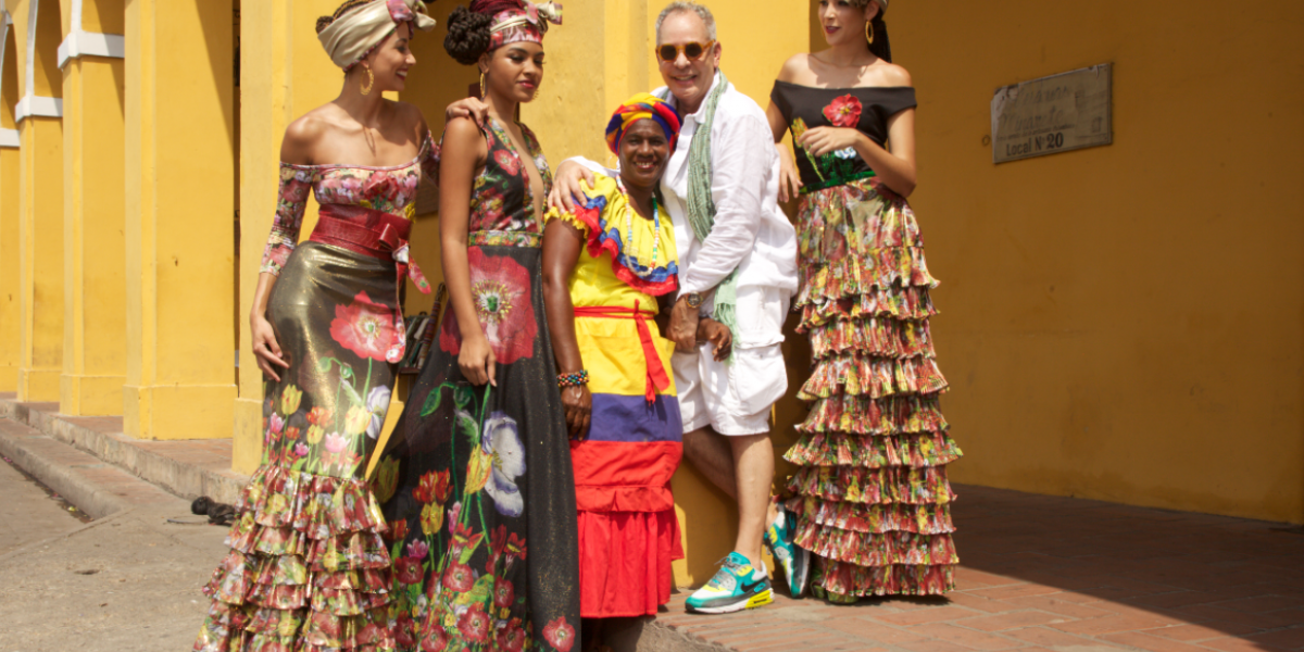 Hernán Zajar, el narrador del Caribe en la moda colombiana
