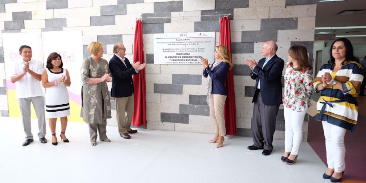 Angélica Rivera inaugura Centro de Rehabilitación y Educación Especial en Morelos