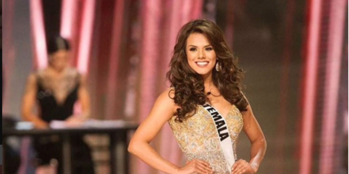 El topless de la Miss Universo Guatemala Virginia Argueta que encendió a sus fans