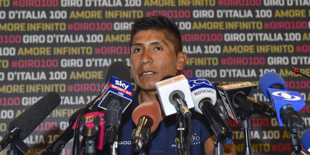 """""""No sé si es posible ganar Giro y Tour el mismo año. Primero tengo que ganar el Giro"""": Nairo Quintana"""