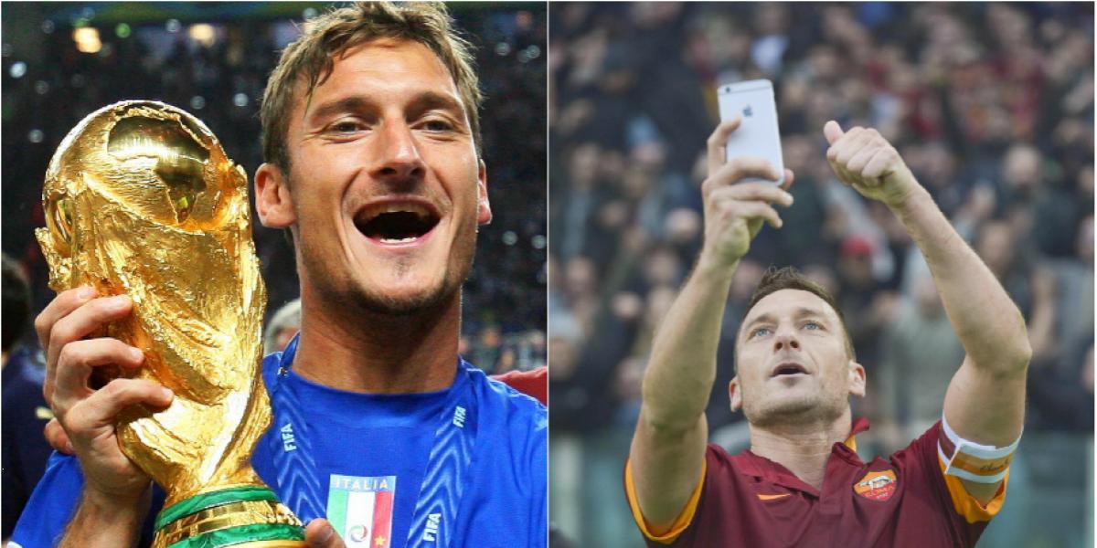 Los cinco momentos que marcaron la carrera de Francesco Totti