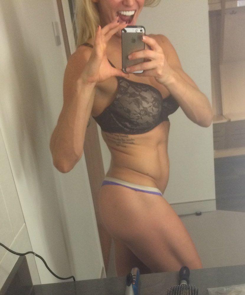 Se filtran fotos íntimas de la diva de WWE Charlotte Flair