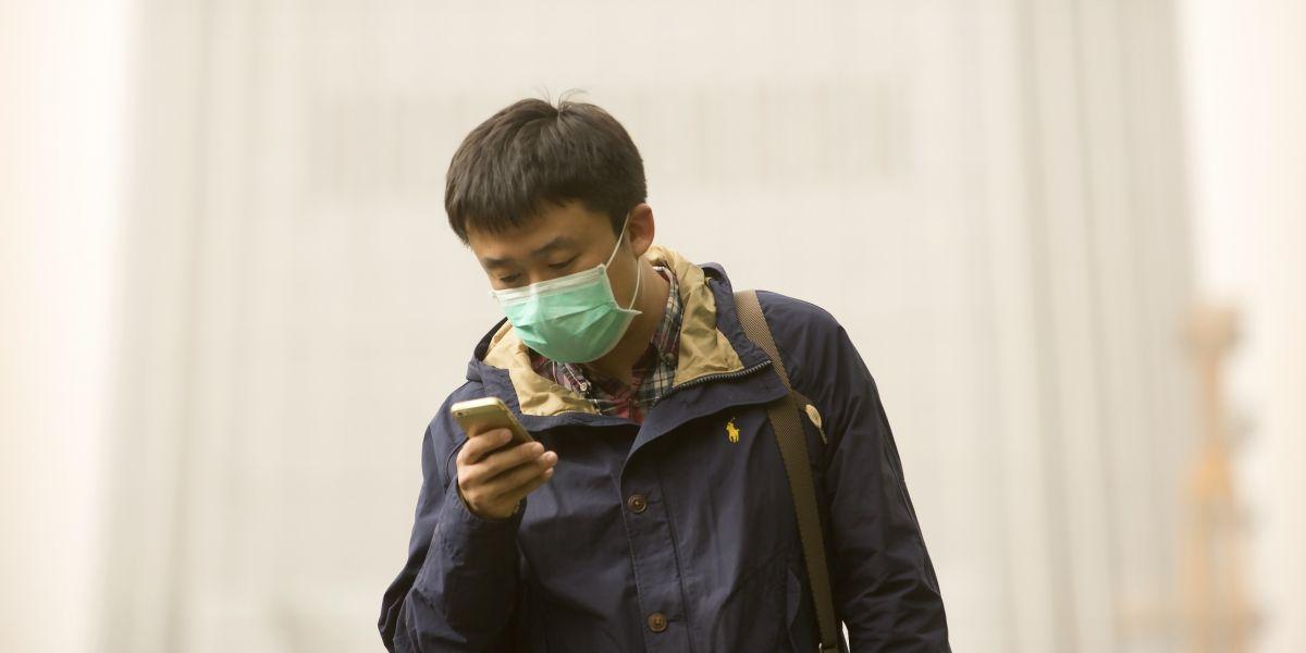 Tormenta de arena envuelve a China en una capa de contaminación