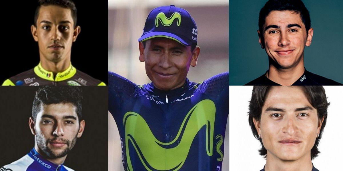 Conozca  a los 5 ciclistas colombianos que estarán en el Giro de Italia 2017