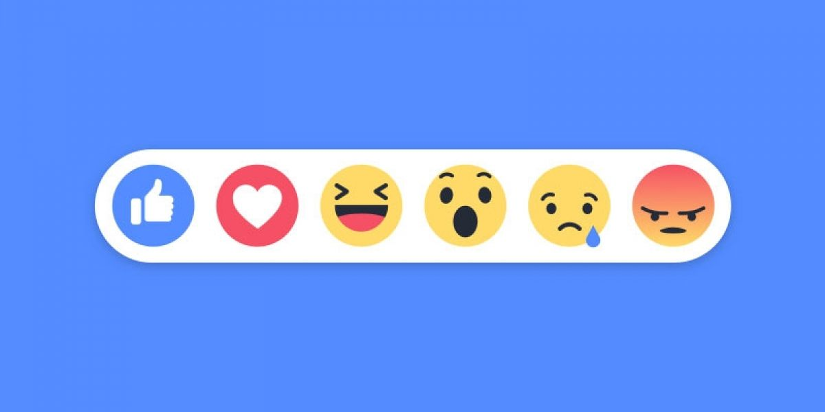 Reactions de Facebook pueden ser usados en comentarios
