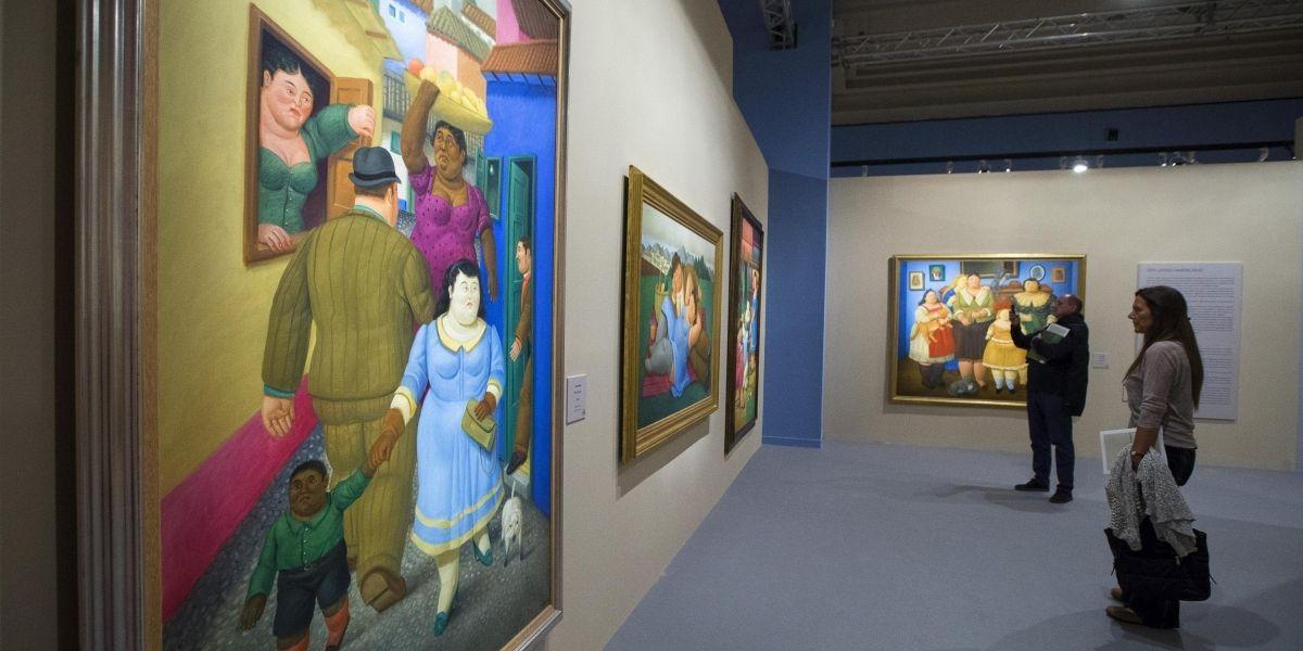 Subastan obras de Fernando Botero en Nueva York por un valor cercano al millón dólares