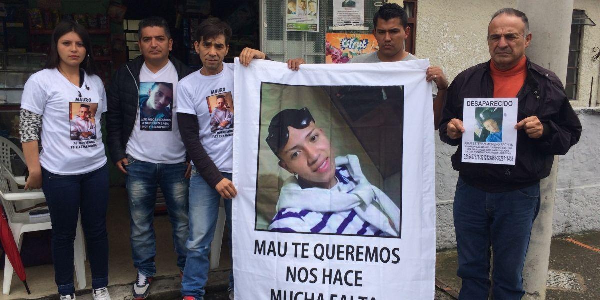A Mauricio, Brayan y Juanes se los tragó la tierra