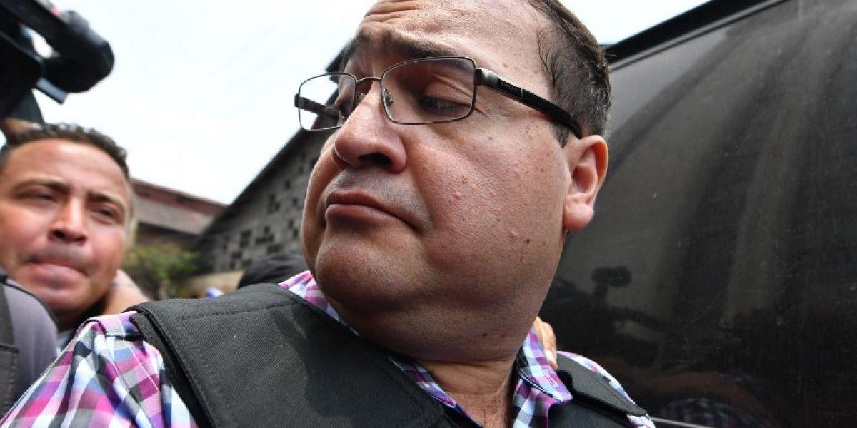"""Exgobernador Javier Duarte enviado a juicio gracias a pruebas clave """""""