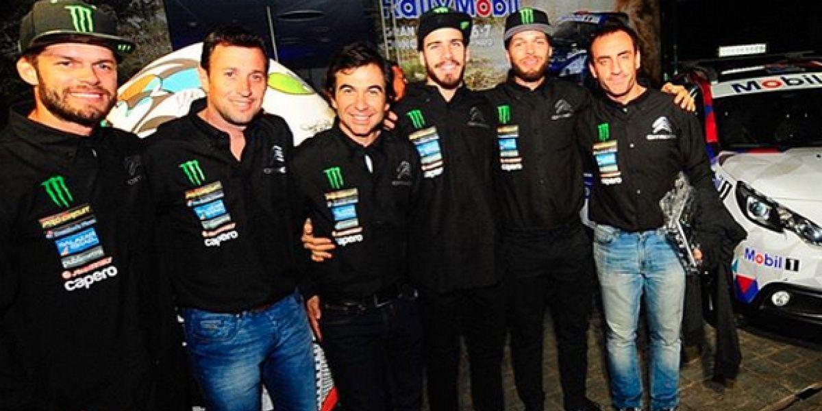 Los Israel sueñan con el Mundial en el rally de Concepción