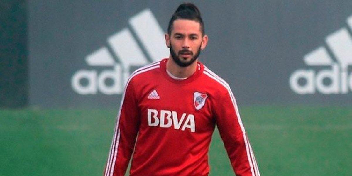 ¡Una nueva lesión! El drama del chileno Marcelo Larrondo en River Plate no tiene fin