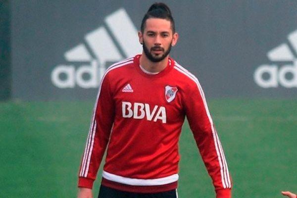 Marcelo Larrondo no lo pasa bien en River Plate / Foto: Twitter