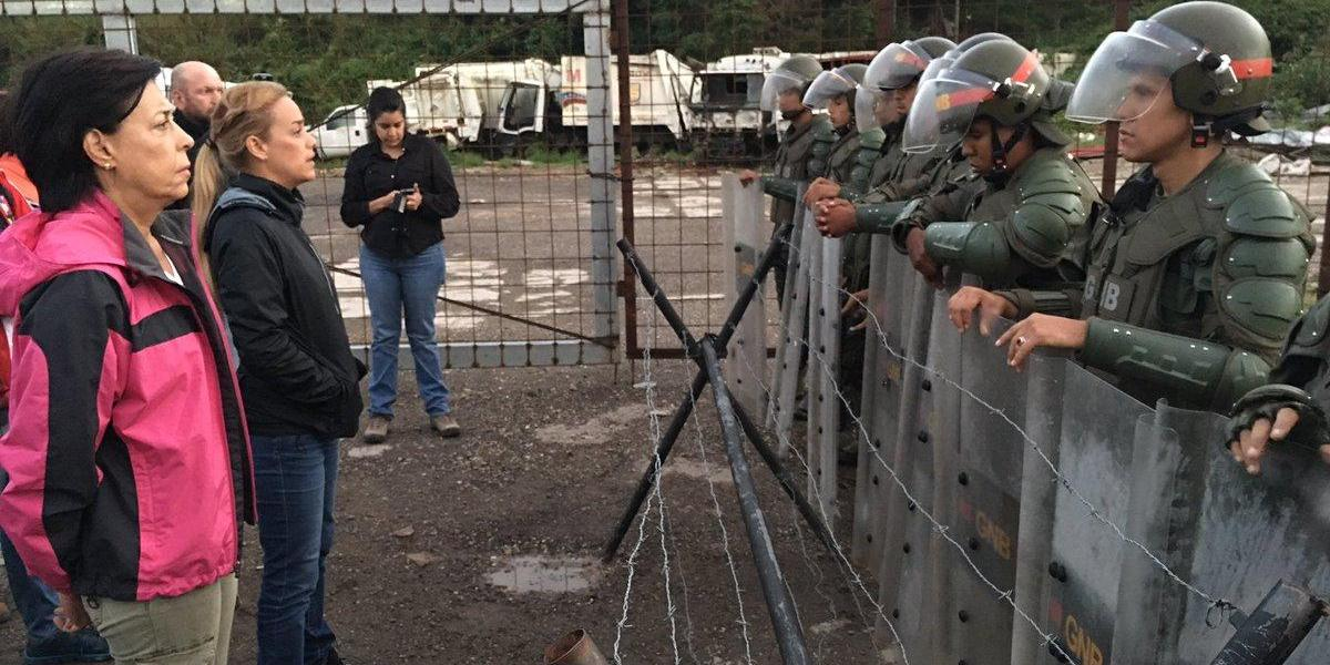 """Venezuela: Lilian Tintori afirma que el video donde se ve con vida a Leopoldo López """"es falso"""""""