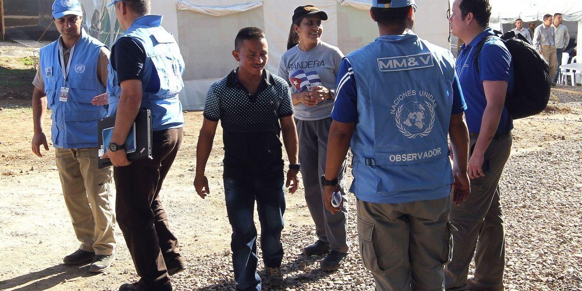 Frente disidente de las Farc condicionó la liberación del miembro de la ONU