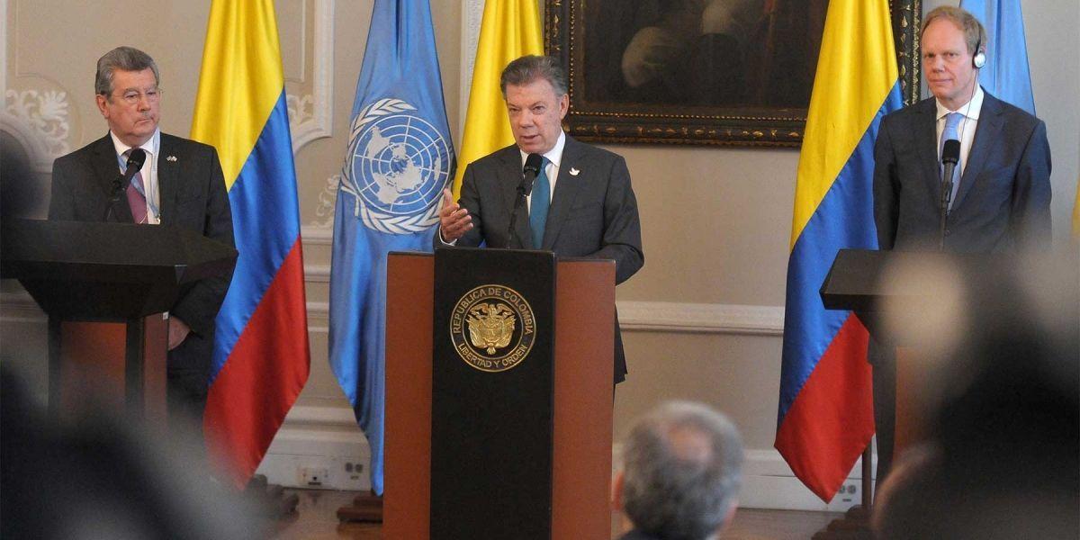Con Colombia se completó la paz en todo el continente americano: ONU