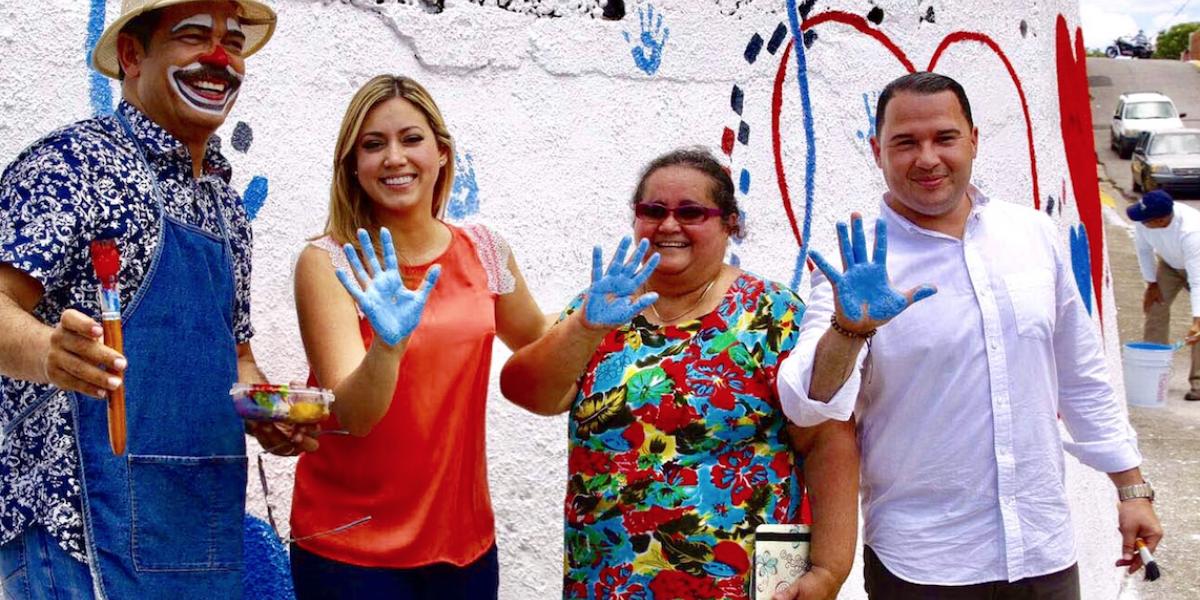 Primera dama supervisa trabajos de reconstrucción en Hormigueros