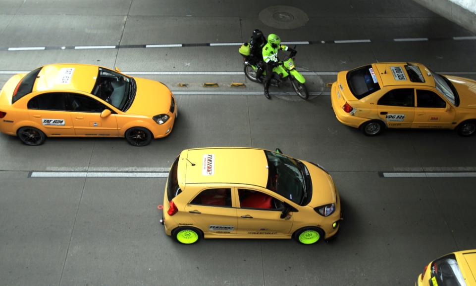 Gracias a estas nuevas medidas, aumentaría el número de taxis en Bogotá