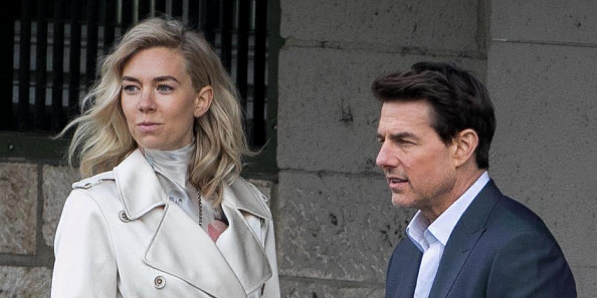"""Captan a Tom Cruise besándose con Vanessa Kirby en """"Misión Imposible 6"""""""