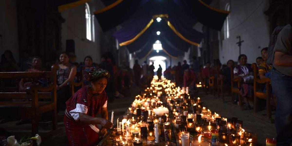La espiritualidad y tradición en el área Ixil