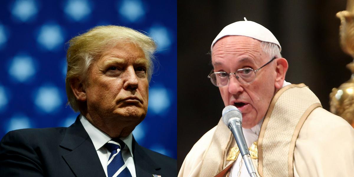 Donald Trump viajará al Vaticano en su primera gira internacional