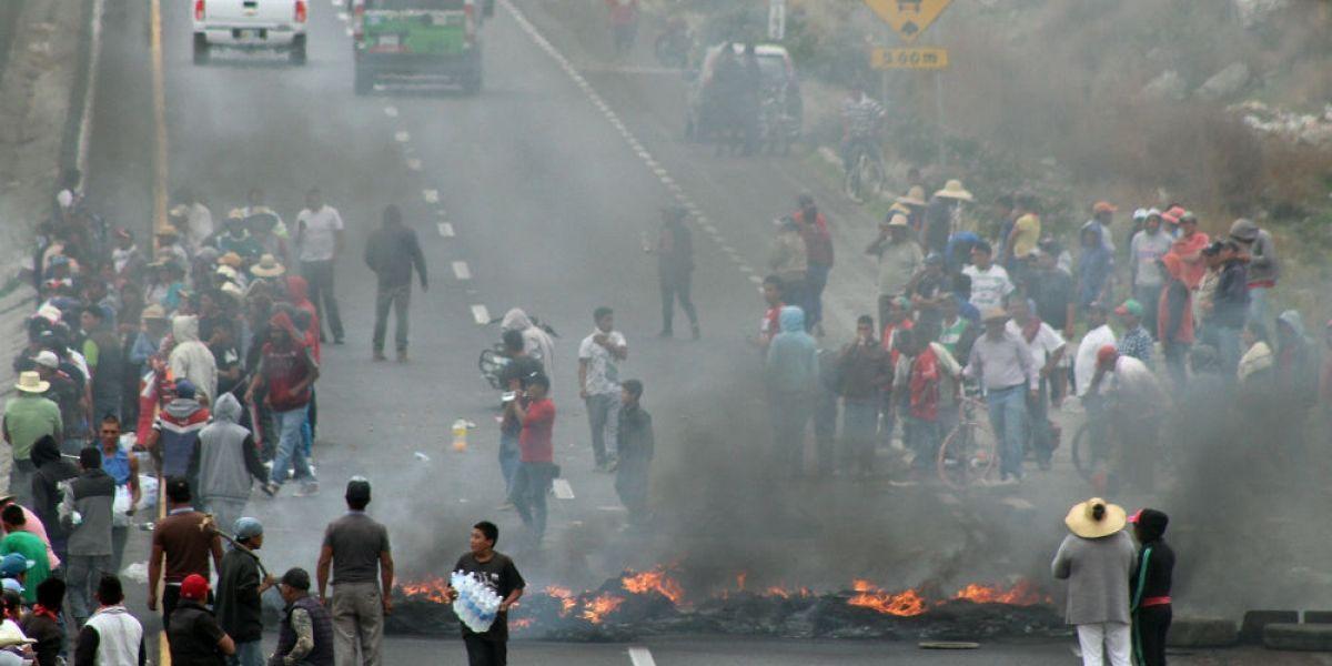 Liberan autopista Puebla-Córdoba tras cuatro horas de bloqueo