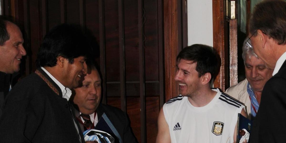 Perdonazo a Messi: Evo Morales celebró la decisión y Pinilla mandó irónico mensaje