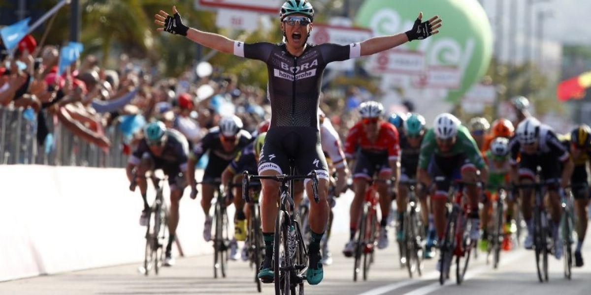 El carpintero de 25 años que dio la primera gran sorpresa en el Giro de Italia