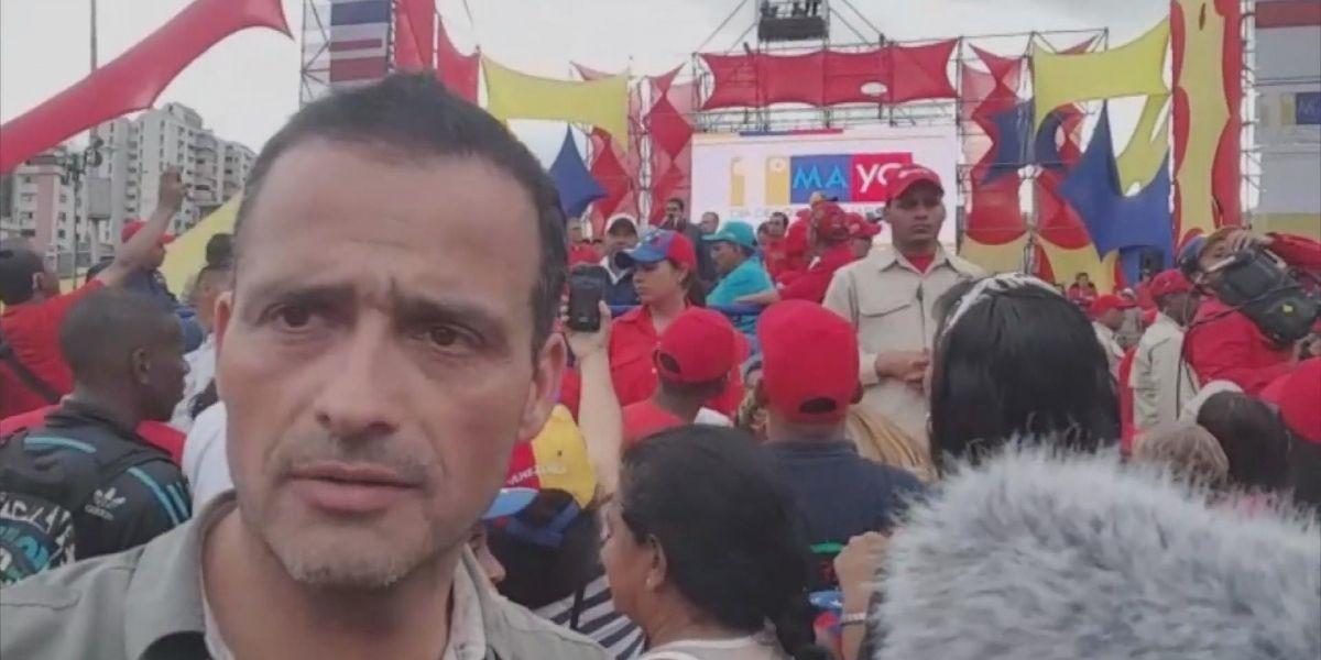 """""""Venezuela Urgente"""": El primer programa colaborativo entre CHV y CNN Chile"""