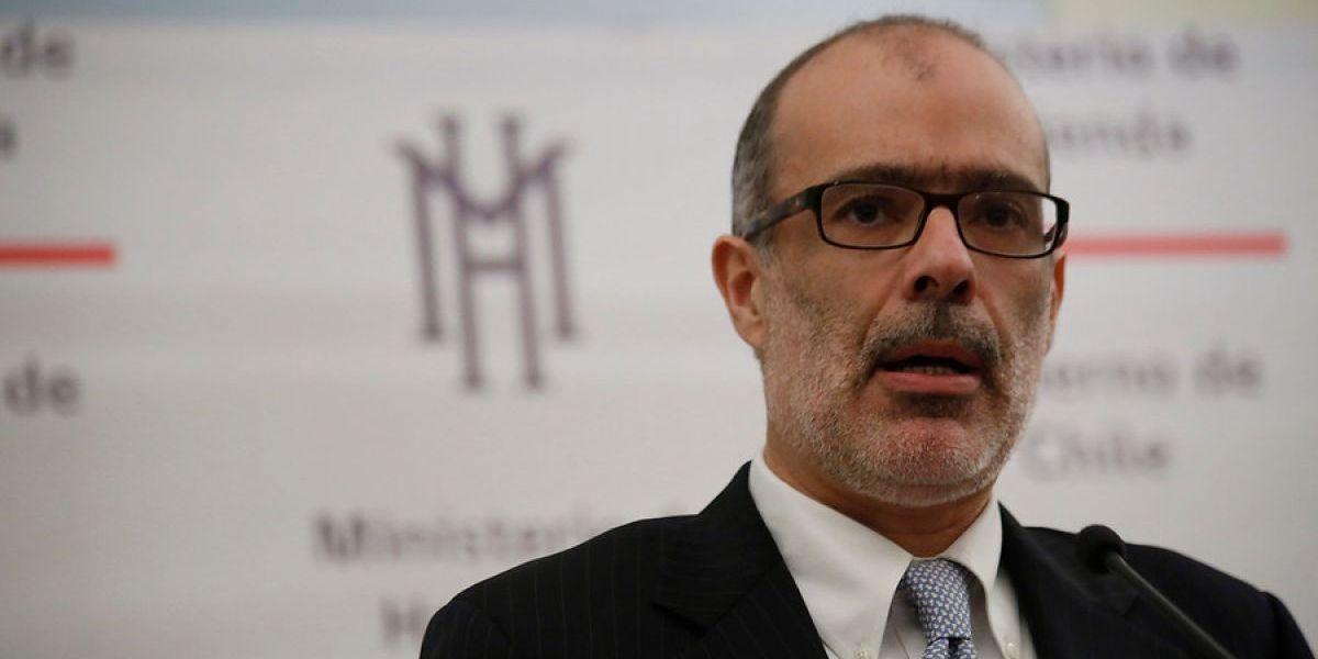 """Ministro Valdés por Imacec: """"Fue mejor de lo que esperábamos, pero sigue siendo bajo"""""""