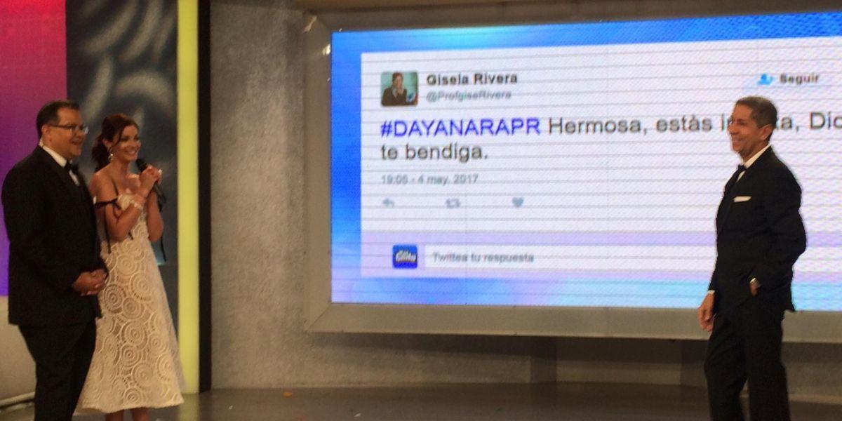 Insultan a Dayanara Torres en televisión