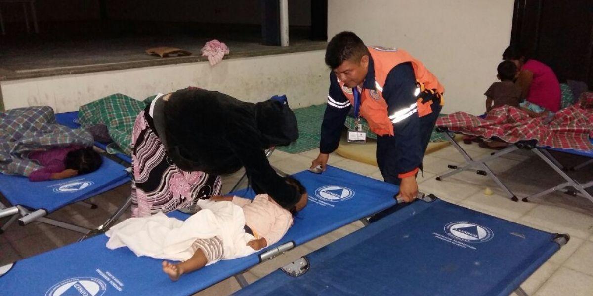 Más de 80 personas han sido atendidas en albergues por época fría