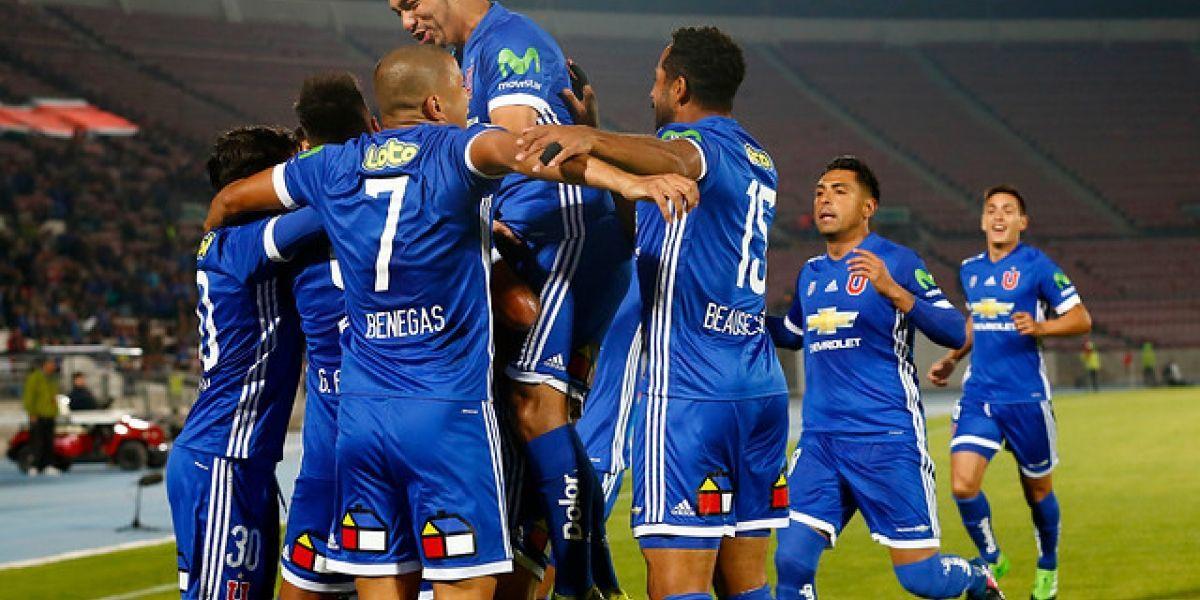 La U armó un vendaval en el Nacional para golear a Cobresal y subirse al liderato del Clausura