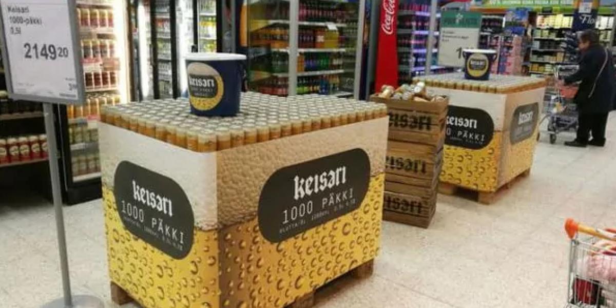 Sólo para valientes: empresa sorprende lanzando a la venta el pack de cervezas más grande del mundo