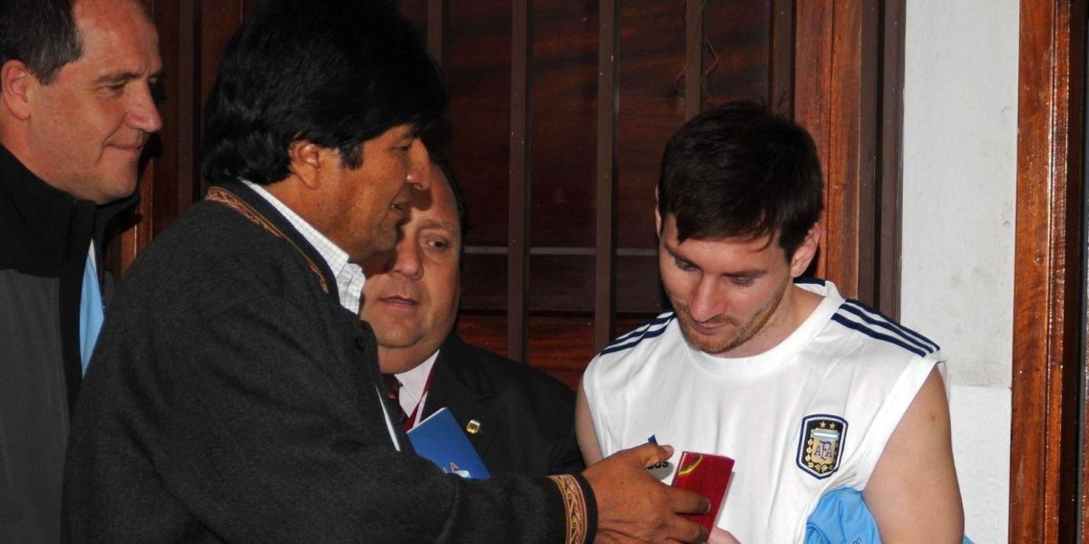 Evo celebra que la Fifa levante la sanción a Messi y estallan los ataques en su contra