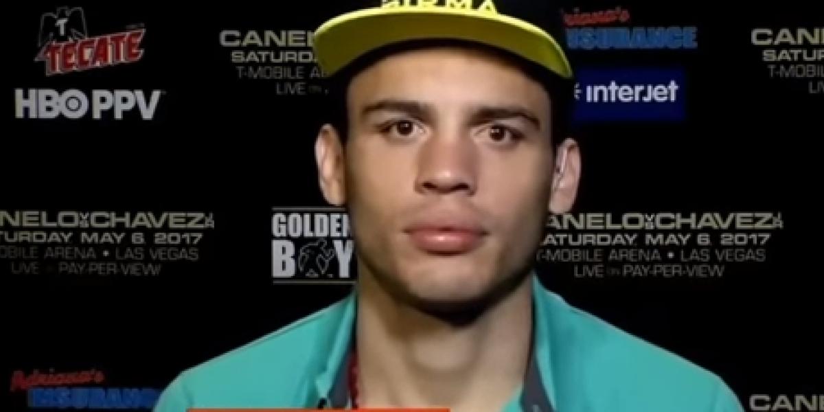 VIDEO: Chávez Jr. mienta la madre a comentarista de ESPN en plena entrevista