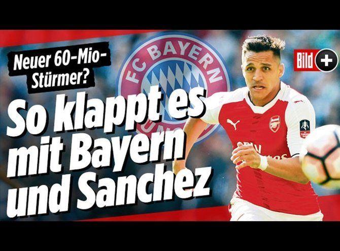 Bayern Munich pagaría histórica cifra para fichar a Alexis
