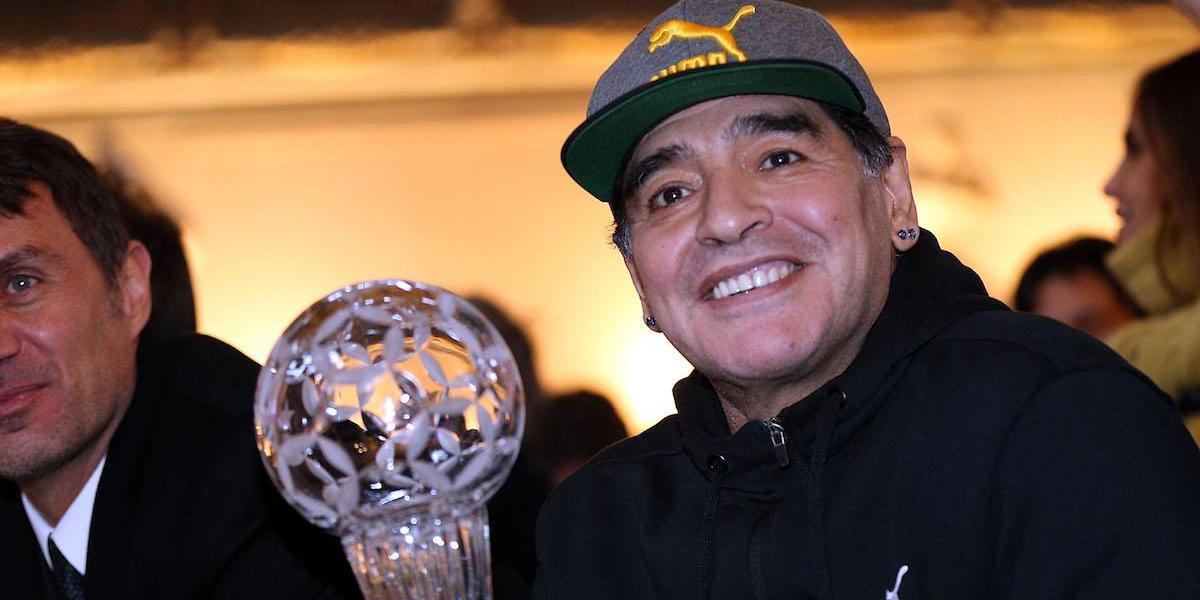 Revela Diego Maradona desde cuándo no consume drogas