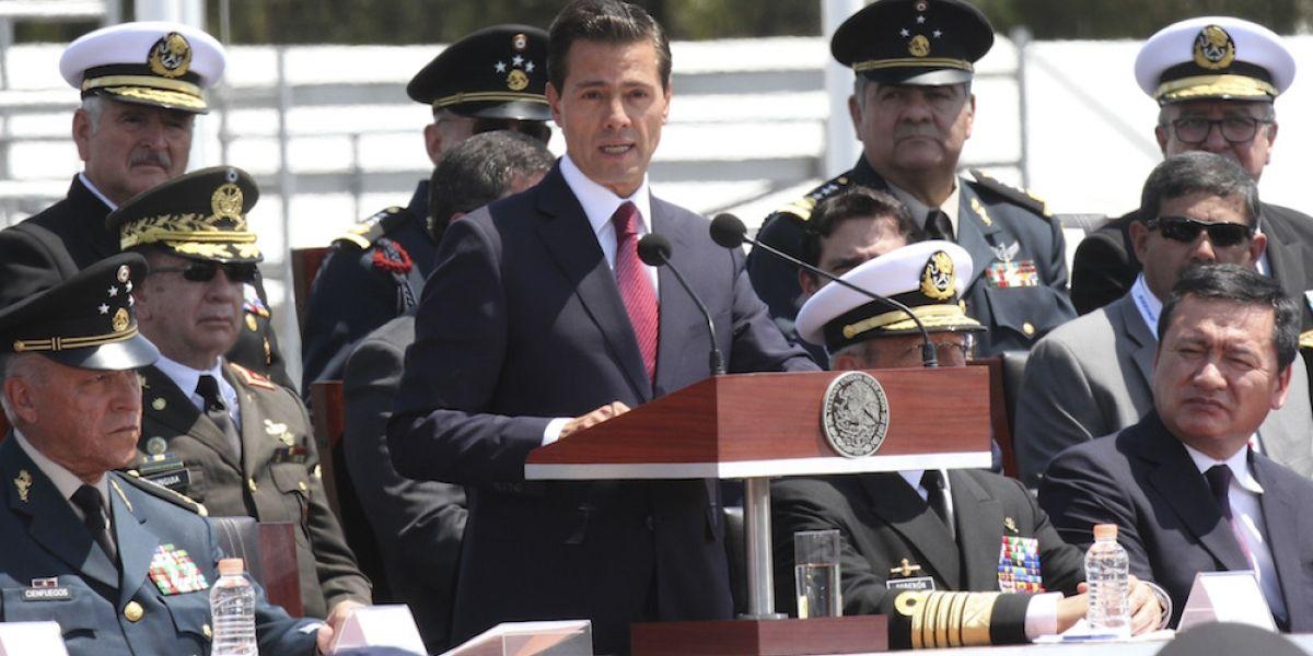 Celebra Peña Nieto importancia de México en el mundo por el 5 de Mayo