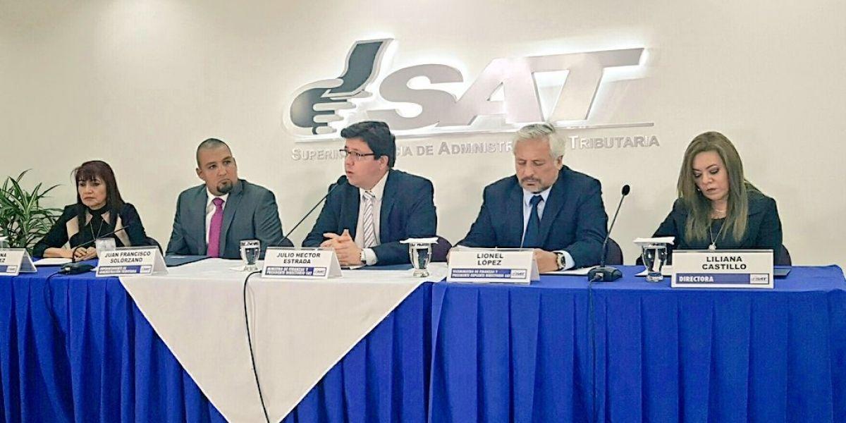 SAT anuncia exoneración de multas y recargos para contribuyentes
