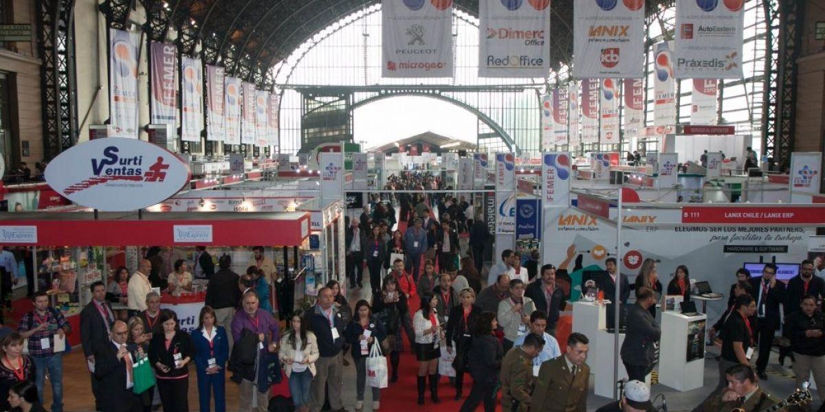 La innovación se toma la Expo Femer en Estación Mapocho