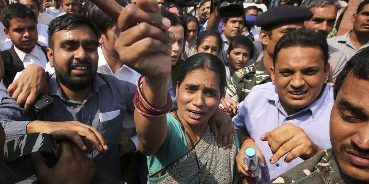 Decisión inédita: cuatro hombres serán ejecutados por una violación en grupo a joven en la India