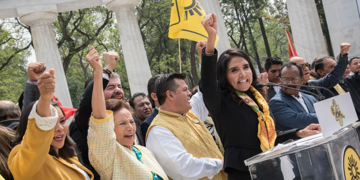 PRD convoca a la unidad de izquierdas en su 28 aniversario