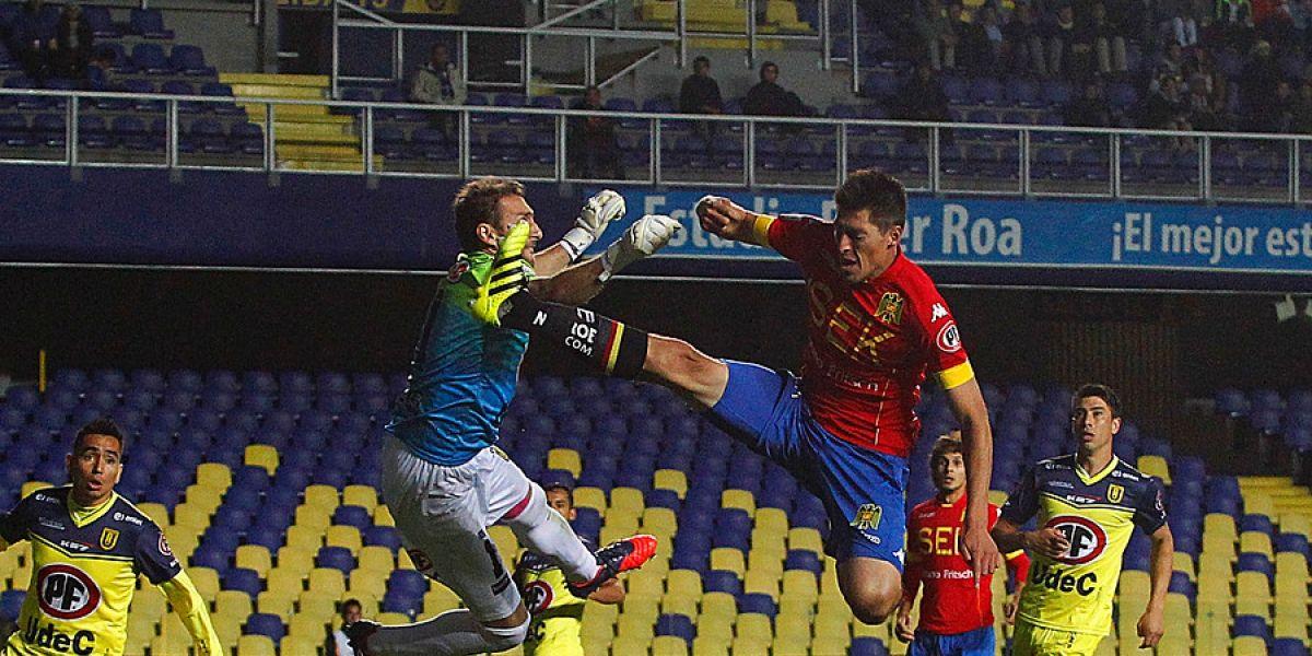 La U de Conce y Unión empatan en un accidentado partido y pierden terreno en la lucha por el Clausura