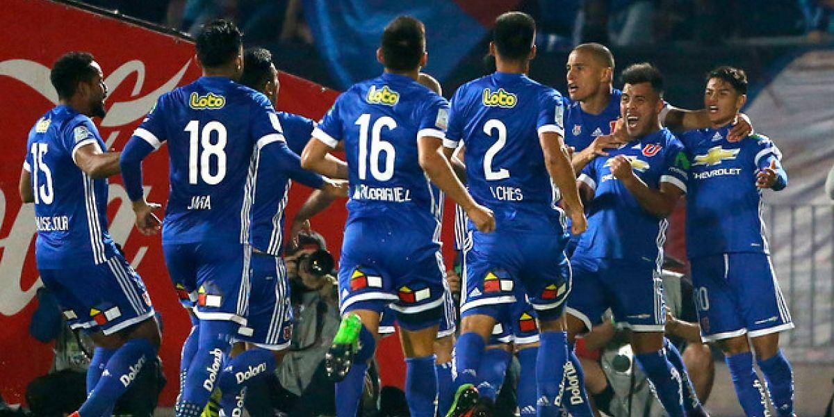 Minuto a minuto: Rodríguez pone el tercero y la U golea a Cobresal en el Nacional