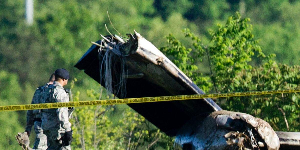 Se estrella avión en Virginia Occidental