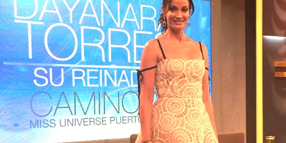 Dayanara Torres retoma la actuación