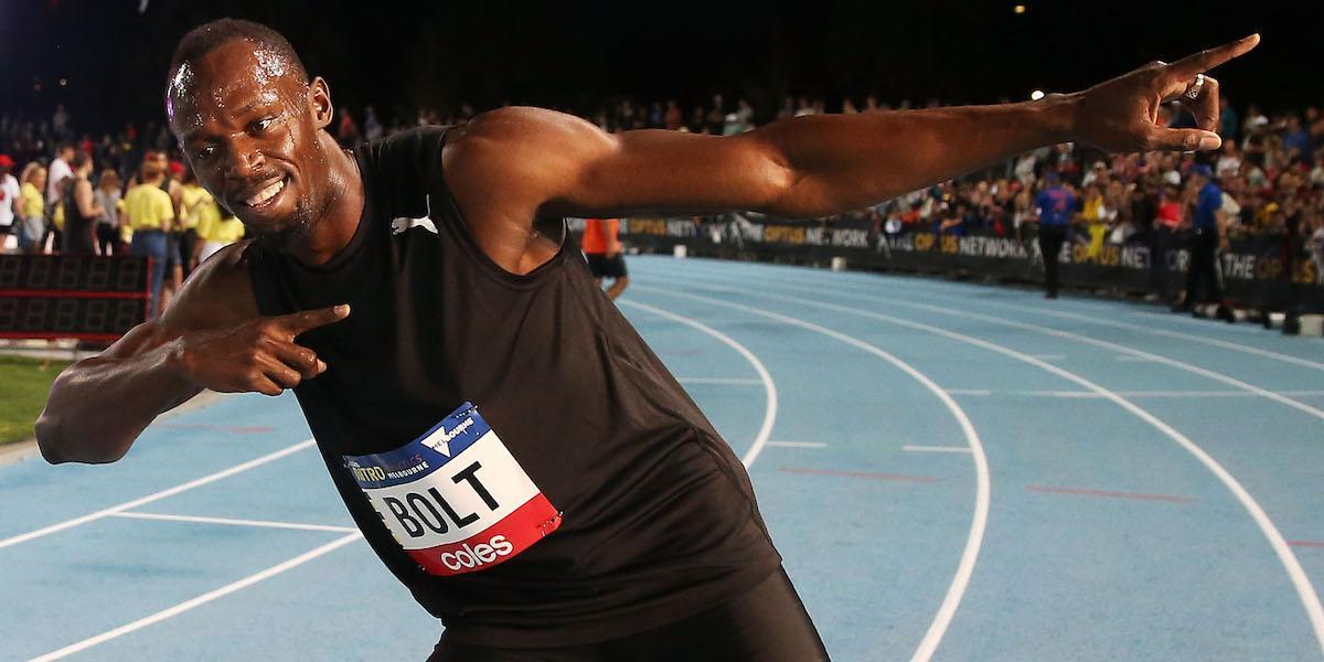 Usain Bolt va en serio con el futbol y entrenará con Borussia Dortmund
